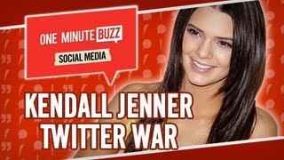 Kendall Jenner & Frances Bean Cobain Twitter War