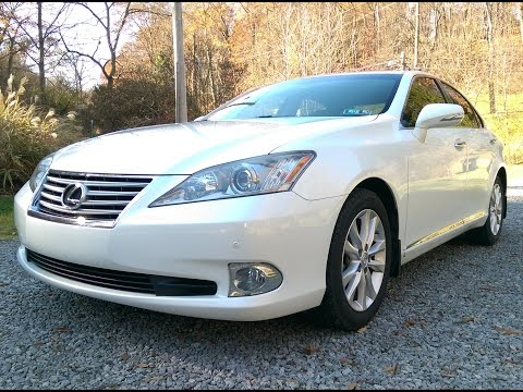 2011 lexus es350 review, mpg and test drive