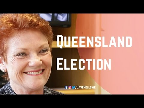 Queensland Election Issues, with Senator Pauline Hanson and Dave Pellowe