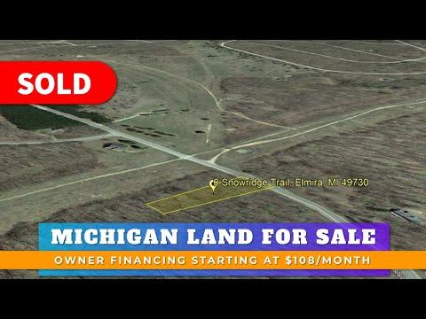 Just Sold By WeSellNewYorkLand.com - Land For Sale Lot 106 Snowridge Trail, Elmira, MI Atrium County