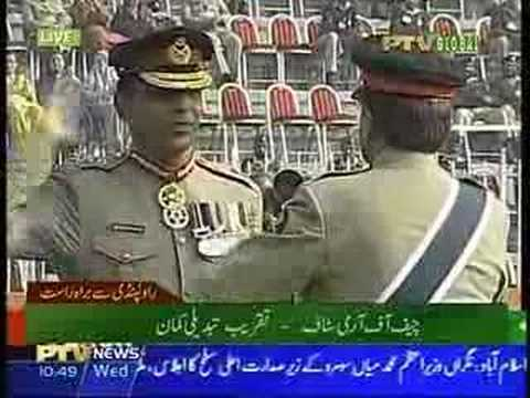 Musharraf resigns from Army, Kayani made Chief of Army Staff