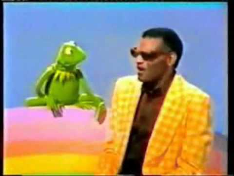 Kermit and Ray Charles sing
