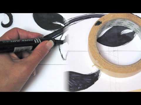 Come Realizzare Una Mascherina Da Stencil Teacher Letizia Barbieri