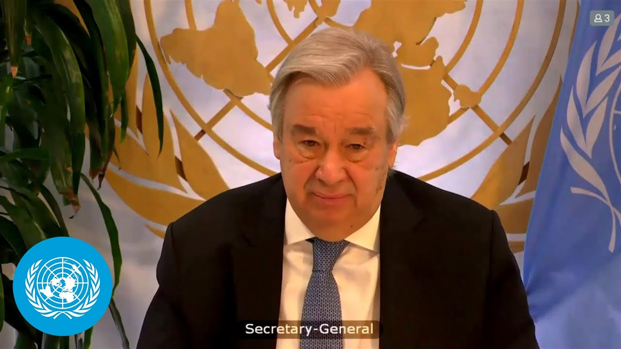 """2021 is a make-or-break year for collective action against the climate emergency"" – UN Chief"