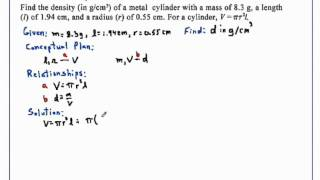 Problems with Equations Part 2 Chemistry
