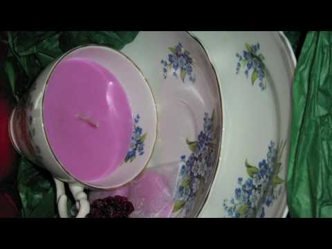 Antique China Candles at www.thetoffeeapple.com.au