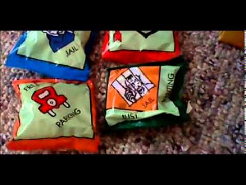 Monopoly 3 Dees Fruit Snacks