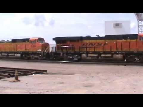 BNSF General Freight Tulsa, OK 9/5/15 vid 1 of 5