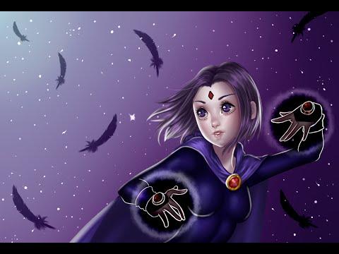 Teen Titans Raven Speedpaint