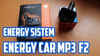 Unboxing y Review Energy Car Mp3 F2 | Realizada EN UN AUDI A4