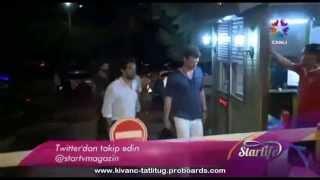 Kıvanç Tatlıtuğ , Kıvanç Kasabalı & Sedef Avcı in Starlife - July 12, 2013