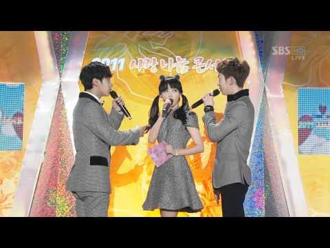 [111106] SBS 2011 Love Sharing Concert - IU MC Cut.mkv