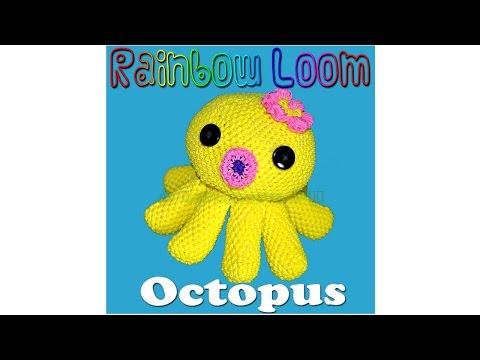 Rainbow Loom Octopus - Part 1/4 Intro Tentacles
