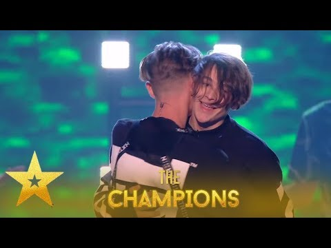 Bars And Melody: Britain STANDS Up For Duo Last BGT Performance!| Britain's Got Talent: Champions