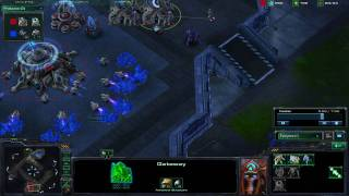 [HD] Starcraft 2 Tutorial: How to stop 4 gate as a Terran