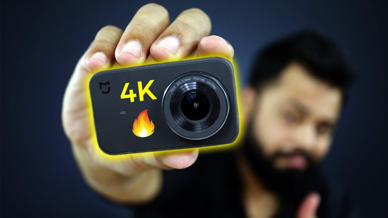 BEST 4K ACTION CAMERA UNDER ₹7000 / $99 | Xiaomi Mi 4K Action Camera Review