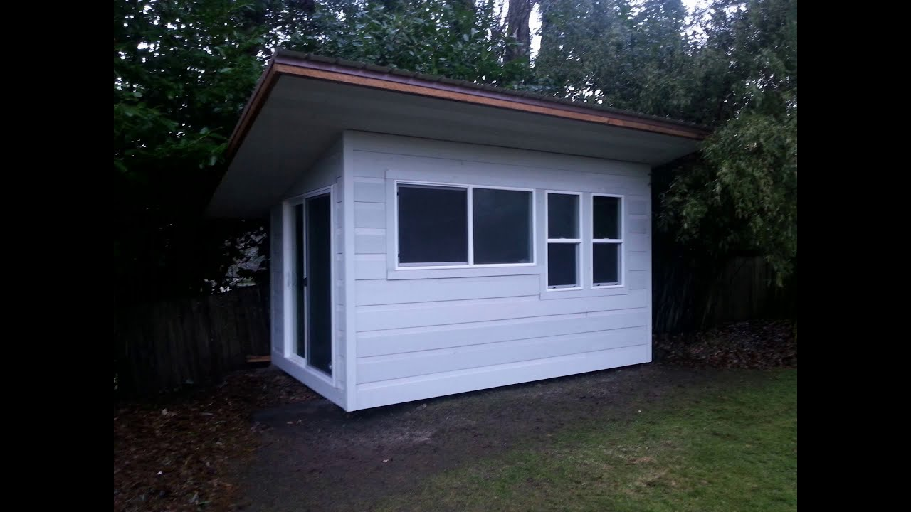 How To Build A Tiny House For 2000 In 7 Days Youtube