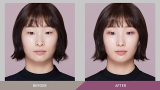 Natural single eyelid makeup using only eyeshadow - 섀도만 활용한 내추럴 무쌍 메이크업