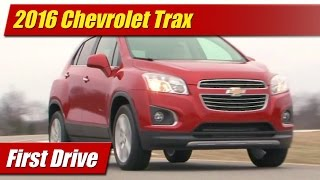 2016 Chevrolet Trax: First Drive