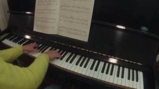 ABRSM piano 2017-2018 grade 4 The Merry Peasant, Returning from Work by Robert Schumann