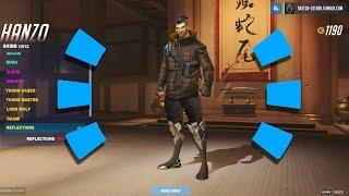 Overwatch - New Hanzo Legendary Skins