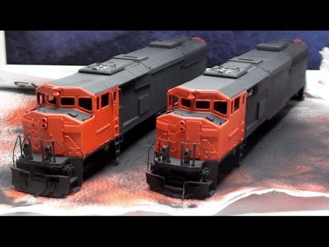 Layout Update - November 2013: Going modular, CN SD60F's, SD70M-2 LED upgrade, cat-tails...