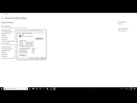 How to fix 144Hz monitor stuck at 60Hz (Windows 10)  - YouTube