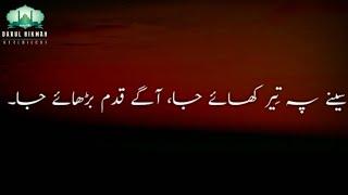 Best of Moulana Tariq Jameel shayari- Urdu subtitles