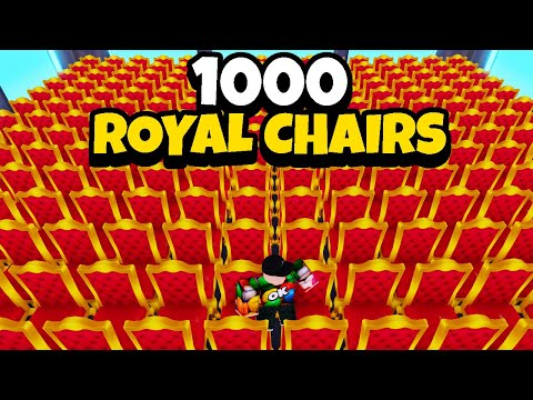 BUYING 1000 ROYAL CHAIRS IN MY RESTAURANT! (ROBLOX)
