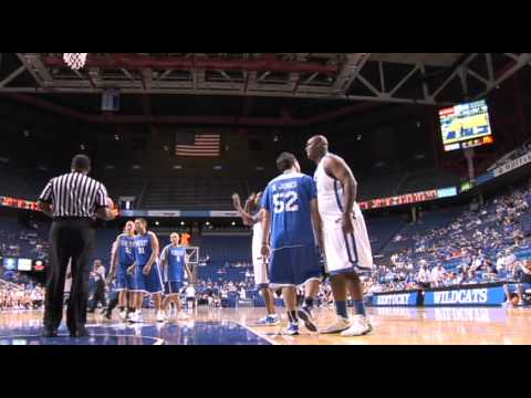 Matt Jones (Kentucky Sports Radio) plays in Rupp Arena - Alumni Game