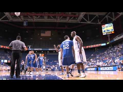 Matt Jones (Kentucky Sports Radio) plays in Rupp Arena - Alumni Game