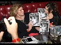 Jordan Barrett celebrates his magazine cover in New York with Cindy Crawford's daughter Kaia Gerber