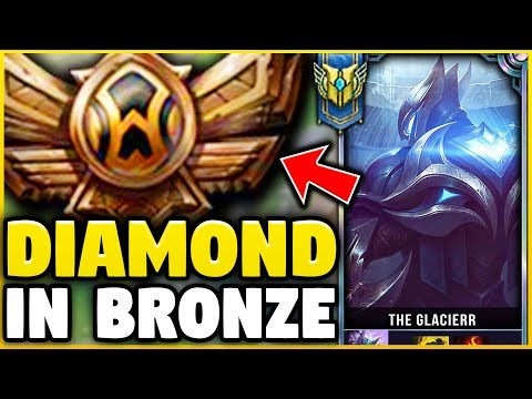 I TOOK MY ZED INTO BRONZE FOR THE FIRST TIME EVER! DIAMOND ZED VS BRONZE ELO! - League Of Legends
