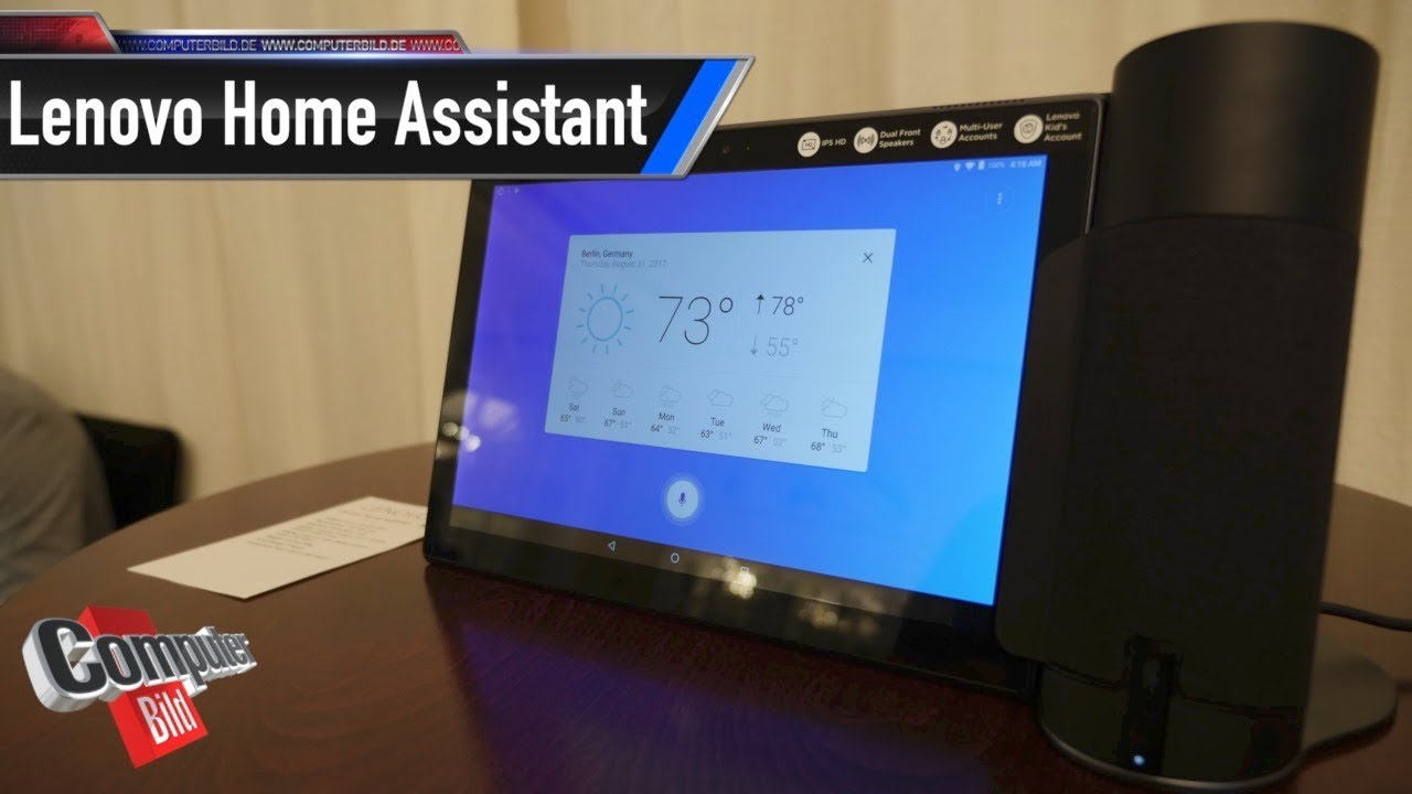 Lenovo Home Assistant: Tablet und Speaker im Team