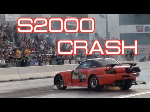 NOTHING CAN STOP THIS S2000! WRECKS THEN KEEPS RACING!