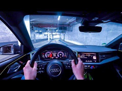 2019 Audi A1 40TFSI (200PS) NIGHT POV DRIVE Onboard (60FPS)