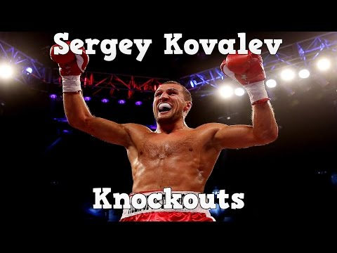 Sergey Kovalev - Ultimate Highlights / Knockouts