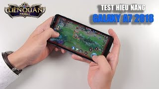 Test hiệu năng Galaxy A7 2018: Exynos 7885 chơi game có mượt không???