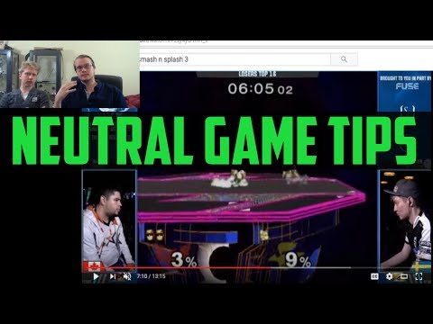 Armada's 5 Neutral Game Tips - Super Smash Bros.