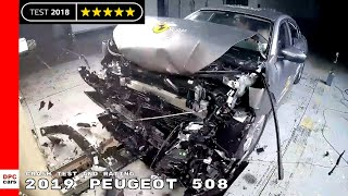 2019 Peugeot 508 Crash Test and Rating