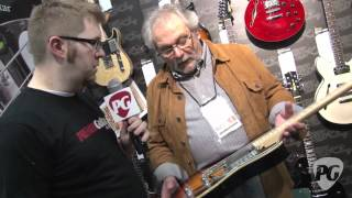 NAMM '12 - Fret-King Black Label Series