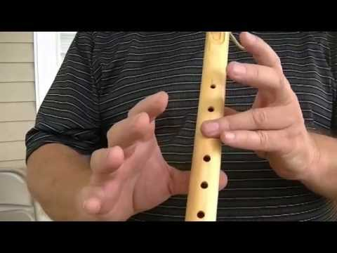 Rocky Top, for a 5 Hole Flute, How to Play on the Native American Flute