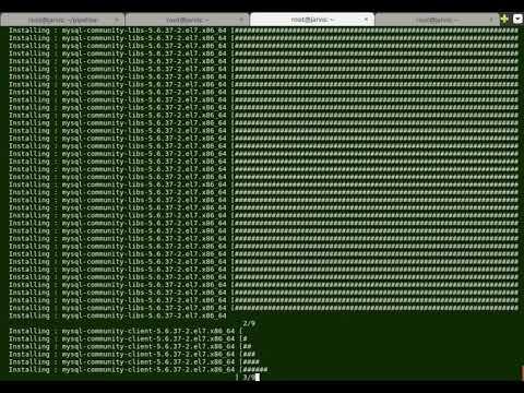 MySQL: Upgrading MySQL with MySQL Yum Repository in CentOS/RHEL 7