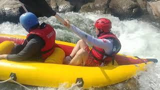 래프팅 카약 Rafting kayak 지리산 엄천강의 …