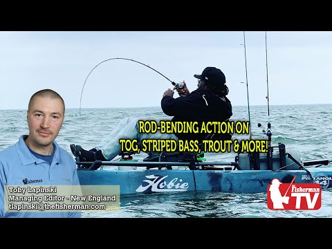 April 16, 2020 New England Fishing Report With Toby Lapinski