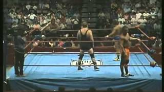 Illustrious Jonnie Stewart & Mean Mike Enos vs Berg and Braham