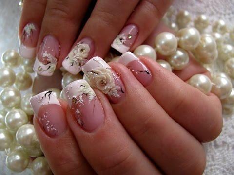Видео Недорого наращивание ногтей фото