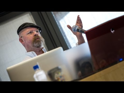 """Jamie Hyneman: """"Innovation, Explosions, and the Benefit of Adolescent Behavior"""""""