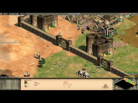 Age of Empires 2 HD Edition - Saladin - The Siege of Jerusalem Walkthrough
