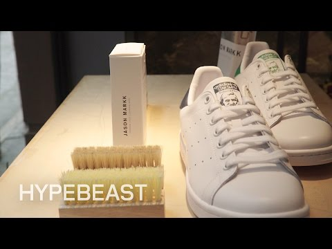 Jason Markk on How to Clean 4 Sneakers in 4 Minutes